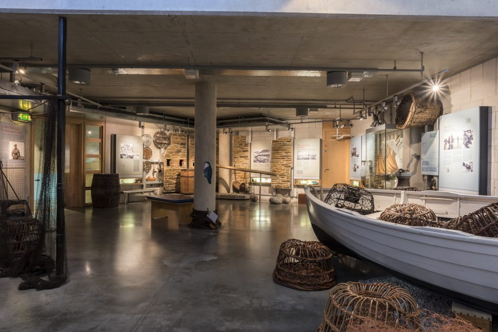 The Cornish Quayside gallery at The National Maritime Museum Cornwall in Falmouth. Credit: Paul Abbitt