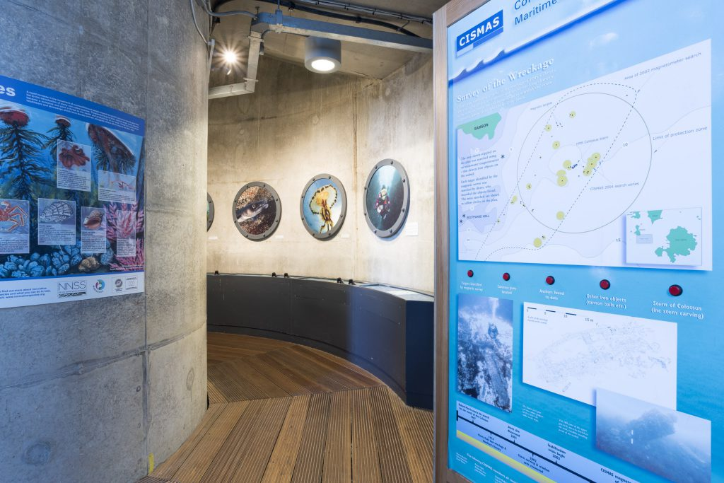 Head down to the Tidal Zone at The National Maritime Museum Cornwall